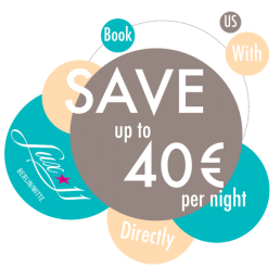Book directly promotion of Lux Eleven Berlin Mitte